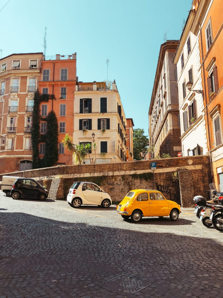 Małe samochody we Włoszech